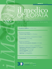 Il Medico Omeopata n.73