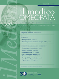 Il Medico Omeopata n.74